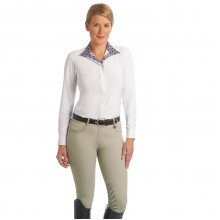 Ovation® Aqua-X™ Silicone Knee Patch Breeches - Ladies'
