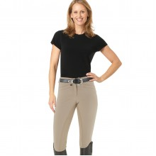 Ovation® Celebrity  EuroWeave™ DX Front Zip Full Seat Breeches - Ladies'