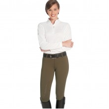 Ovation® AeroWick™ Silicone Knee Patch Tight - Ladies'