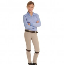 Ovation® Euro Melange X-Grip Knee Patch Jod- Child's