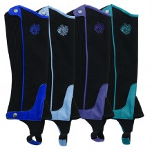 Ovation® Horseshoe Half Chaps- Child's